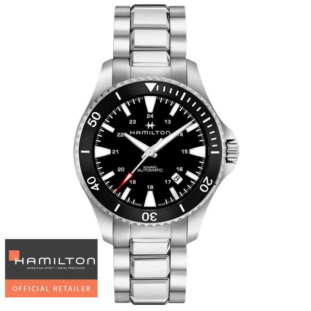 HAMILTON ハミルトン 腕時計 カーキネイビー スキューバオート Khaki Navy Scuba  Auto 自動巻き H82335131 メンズ 国内正規品