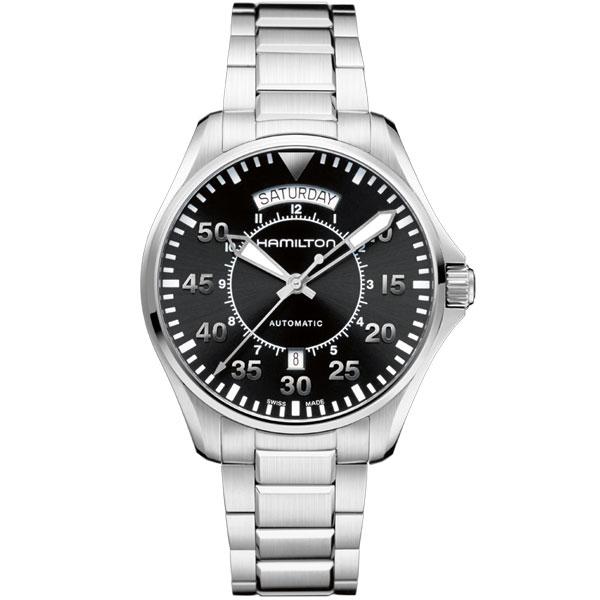 ハミルトン 腕時計 KHAKI カーキ PILOTパイロット オート