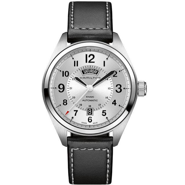 HAMILTON  ハミルトン 腕時計 カーキフィールドデイデイトオート42mm メンズ H70505753 国 内正規品