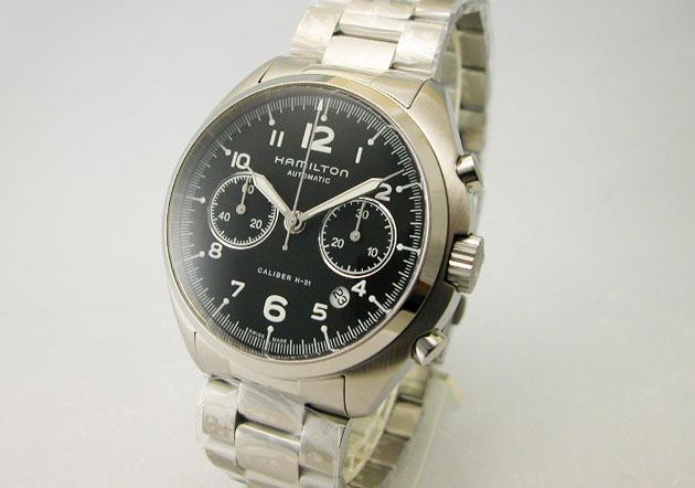 ハミルトン 腕時計 Khaki カーキ パイロットパイオニアオートクロノ