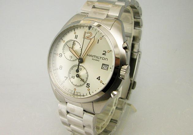 ハミルトン 腕時計 Khaki カーキ パイロットパイオニアクロノ