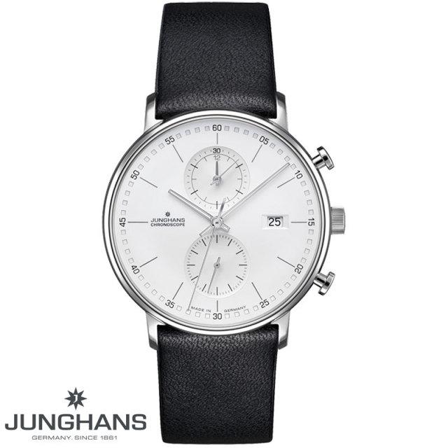 ユンハンス JUNGHANS FORM C クロノグラフクォーツ 腕時計 041 4770 00 国内正規品