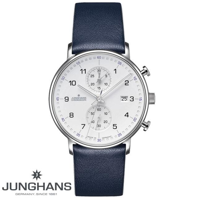 ユンハンス JUNGHANS FORM C クロノグラフクォーツ 腕時計 041 4775 00 国内正規品