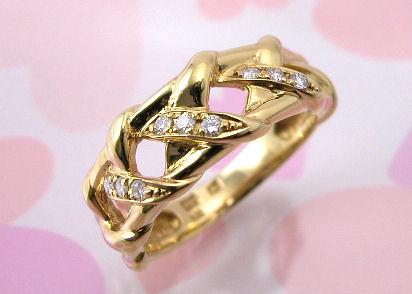 ニナリッチ ダイヤモンドリングK18
