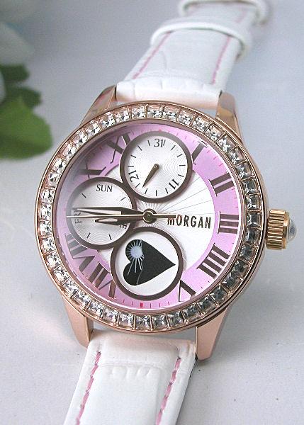 【MORGAN】モルガン ピンクゴールド レディースウォッチ MG060-3