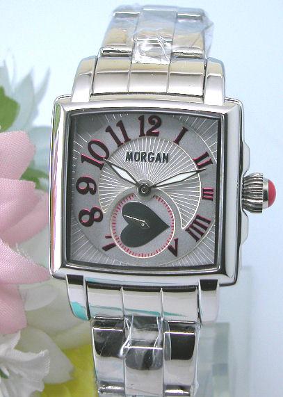 【MORGAN】モルガン スクエアフェイス レディースブレスレットウォッチ MG061-1