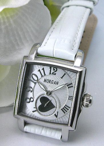 【MORGAN】モルガン スクエアフェイス レディースウォッチ MG061-3