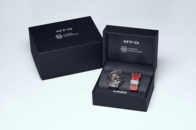 G-SHOCK ジーショック 腕時計 スマートフォンリンク電波ソーラー限定 カーボンモノコック