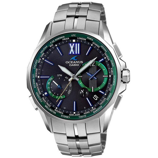 カシオ 腕時計 オシアナス マンタMULTIBAND6 TOUGH MVT ソーラー電波 世界限定500本  OCW-S3400E-1AJF メンズウォッチ