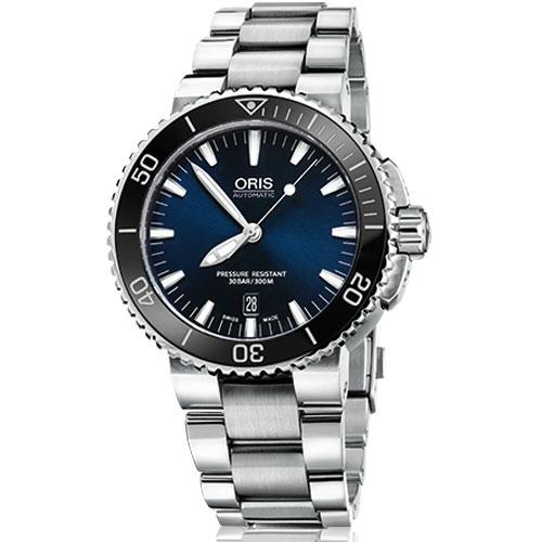 ORIS オリス 腕時計 ダイバーズ 自動巻き アクイスデイトステンレス ブルーダイヤル Ref.733 7653 4135-07 国内正規品