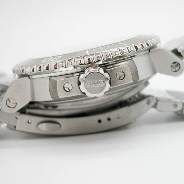 オリス アクイス デイト アップサイクル 自動巻き 41.5mm