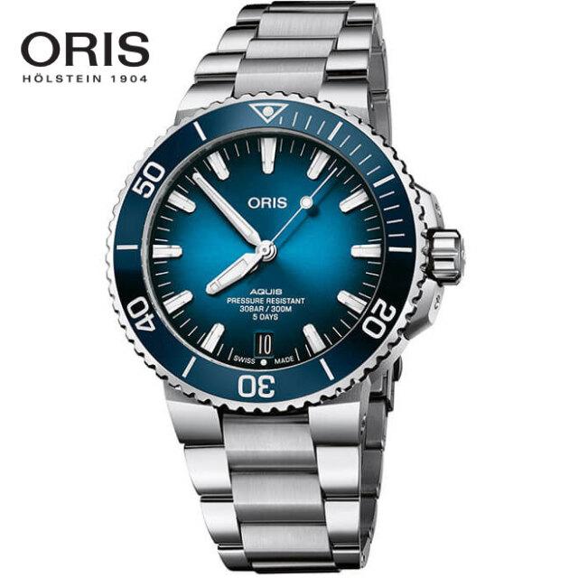 ORIS オリス 腕時計 アクイスデイト キャリバー400 自動巻き 43.5mm ステンレス Ref. 4007763413507824PEB 国内正規品
