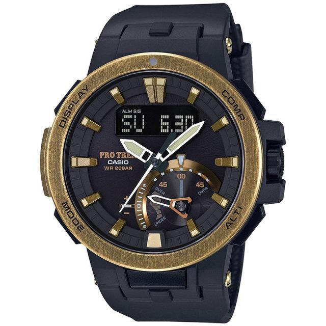 カシオ PROTREK プロトレック 腕時計 スマートアクセス マルチバンド6ソーラー電波 エイジド加工  PRW-7000V-1JF 国内正規品