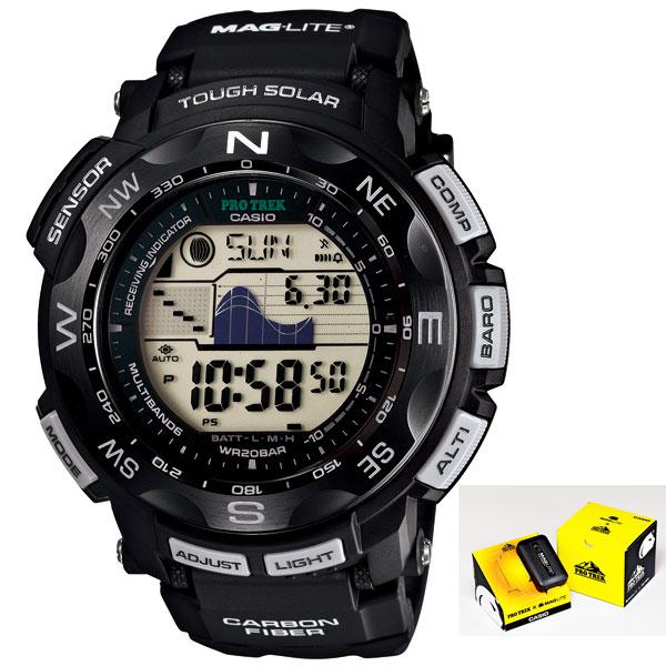 カシオ PROTREK プロトレック MAG-LITE マグライト コラボ 腕時計