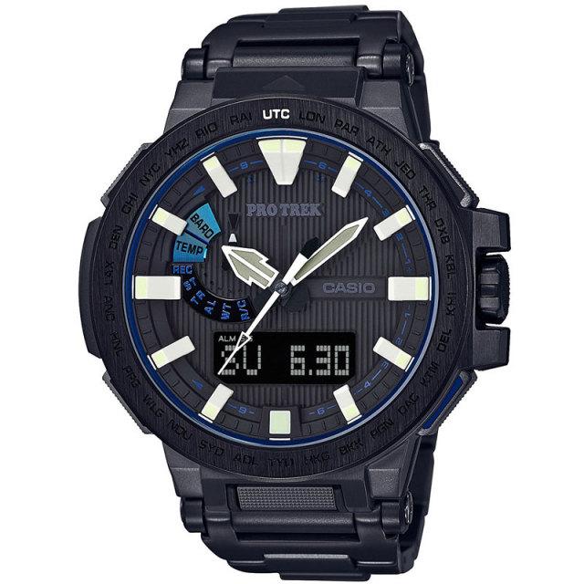 カシオ PROTREK プロトレック 腕時計 マナスル マルチバンド6ソーラー電波 10気圧防水 PRX-8000YT- 1BJF メンズウォッチ