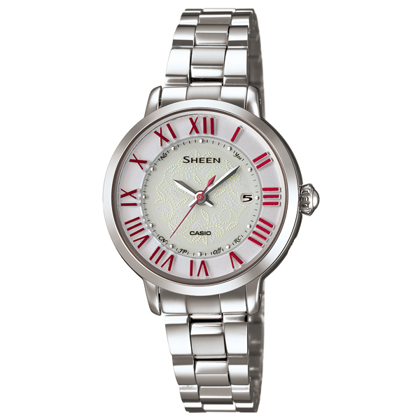 カシオシーンソーラー電波腕時計