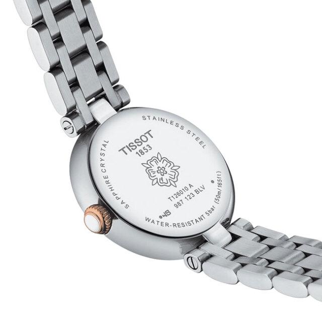 ティソ 腕時計 ベリッシマクォーツ TISSOT Bellissima ホワイト文字盤  レディース