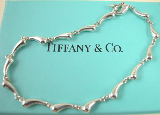 ティファニー Tiffany&Co. チェーンオブティアドロップブレスレット