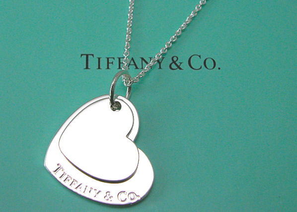 ティファニー Tiffany&Co. ダブルハートペンダントネックレス