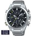 カシオ エディフィス 腕時計 EDIFICE モバイルリング ブルートゥース クロノグラフ  ソーラー EQB-501D-1AJF メンズウォッチ国内正規品