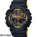 カシオ G-SHOCK ジーショック 腕時計 アナデジ GA-100BY-1AJF メンズウォッチ国内正規品
