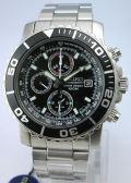 SEIKO セイコー 腕時計 アラームクロノグラフ SNA225P1 クォーツ メンズ