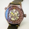TERRA CIELO MARE テッラチエロマーレ Orienteering オリエンテーリング ツンドラ PVD 腕時計 自動巻き TC7008TUNPA/84 国内正規品 メンズ