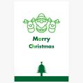 【イラストc-056-01】クリスマスカード