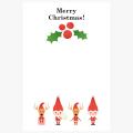 【イラストc-059-01】クリスマスカード