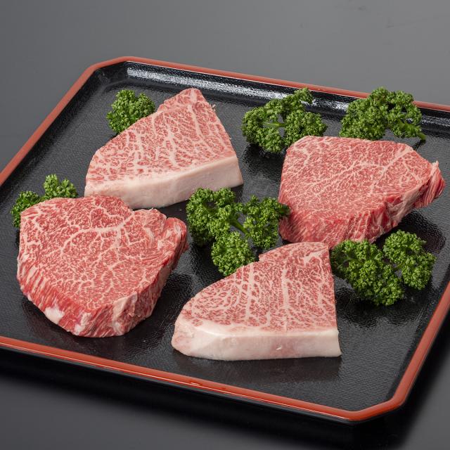 但馬牛ランプステーキ・イチボステーキの食べ比べセット(4枚入り)