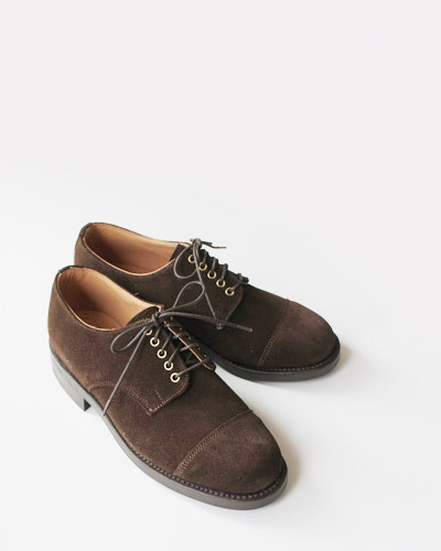 ARROW FOOTWEAR アローフットウエア PLAIN TOE WITH CAP TOE