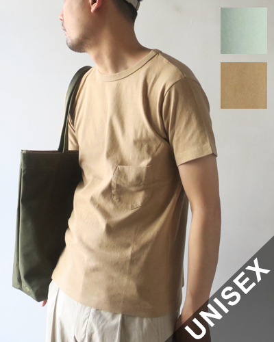 FilMelange DIZZY フィルメランジェ  ディジー OGラフィー天竺ポケットTシャツ