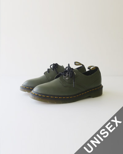 Dr.Martens 1461 PASCAL VERSO SMOOTH LEATHER OXFORD SHOES - KHAKI ドクターマーチン 1461 パスカル