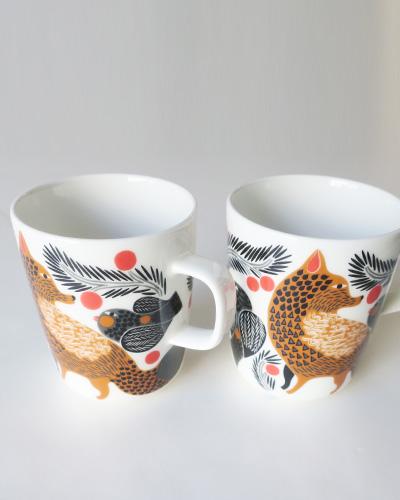 marimekko マリメッコ Ketunmarja マグカップ