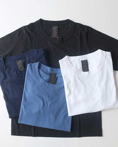 homspun ホームスパン 30/1天竺 七分袖Tシャツ