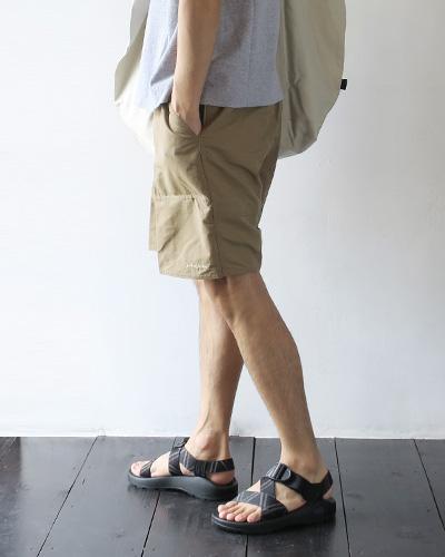 patagoniaのショーツのモデル着用画像