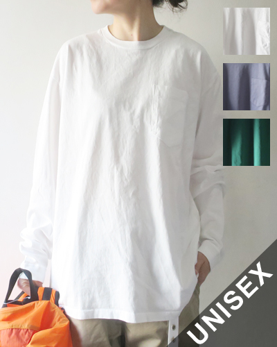 Necessary or Unnecessary POCKET TEE L/S ネセサリー オア アンネセサリー ポケットティー