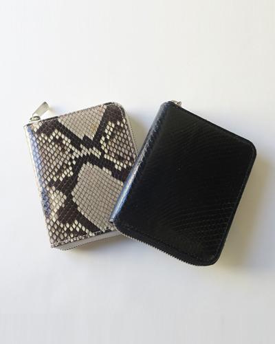 Hender Scheme python square zip purse エンダースキーマ パイソンスクエアジップパース
