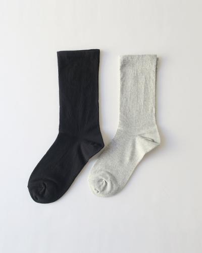 evam eva - cotton socks エヴァムエヴァ コットンソックス