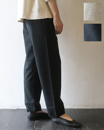 evam eva - wool pants エヴァムエヴァ ウールパンツ