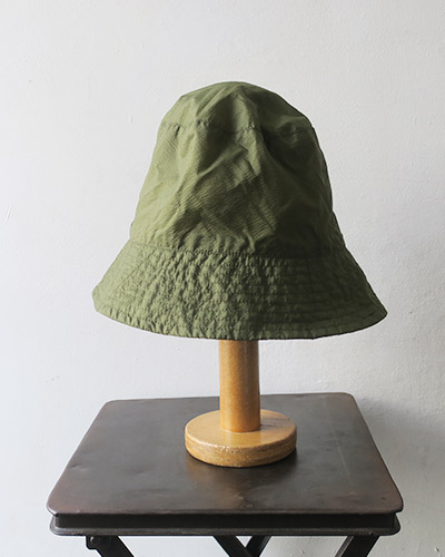 Engineered Garments エンジニアドガーメンツ Bucket Hat/Solid - Nylon Micro Ripstop バケットハット