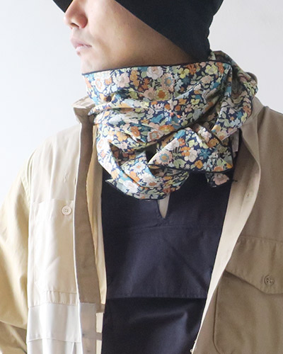 Engineered Garments エンジニアドガーメンツ Long Scarf - Small Floral Printed Lawn ロングスカーフ