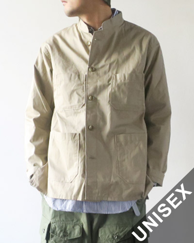 Engineered Garments エンジニアドガーメンツ Dayton Shirt - High Count Twill KHAKI デイトンシャツ