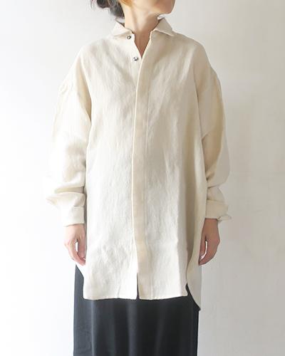 Honnete - Wide Cuffed Long Shirts オネット ロングシャツ