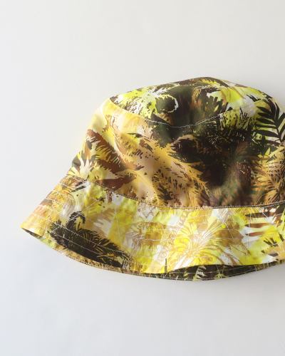 Engineered Garments Bucket Hat - Nylon Poly Tropical Floral Print エンジニアドガーメンツ バケットハット