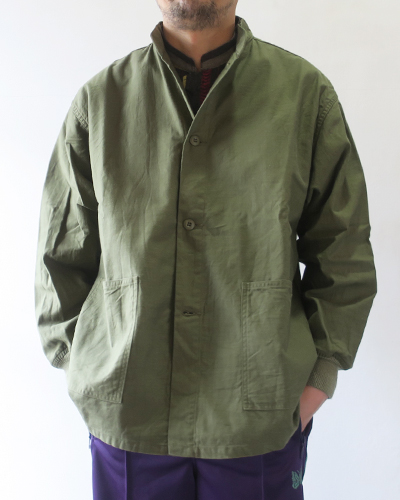 NEEDLES S.C. Army Shirt - Back Sateen ニードルス アーミーシャツ