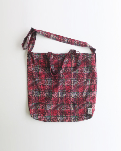 South2 West8 Grocery Bag - Batik Over Print