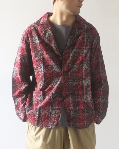 South2 West8 Pen Jacket - Batik Over Print サウス2ウエスト8 ペンジャケット