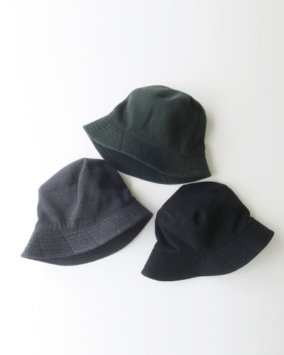 Engineered Garments - Bucket Hat - Polyester Fake Melton エンジニアドガーメンツ バケットハット