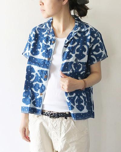 KAPITALのシャツのモデル着用画像